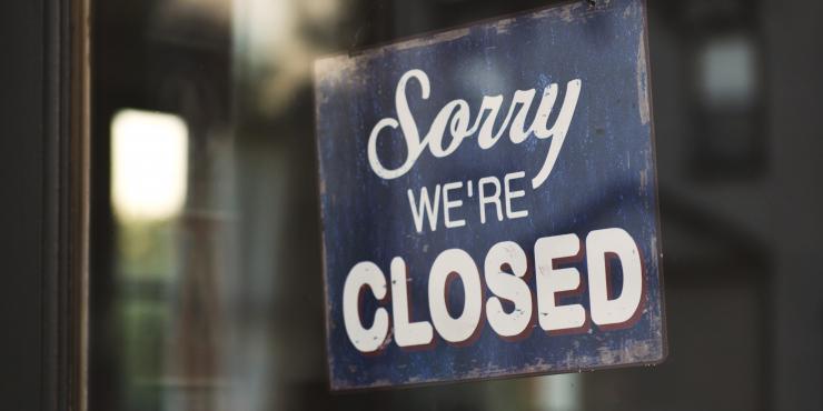 Sorry we'e closed